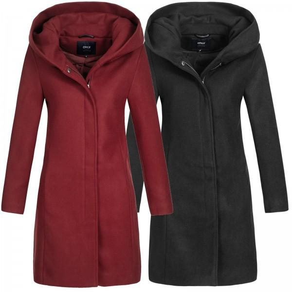 Only Damen Wollmantel Sedona Long Wool Coat