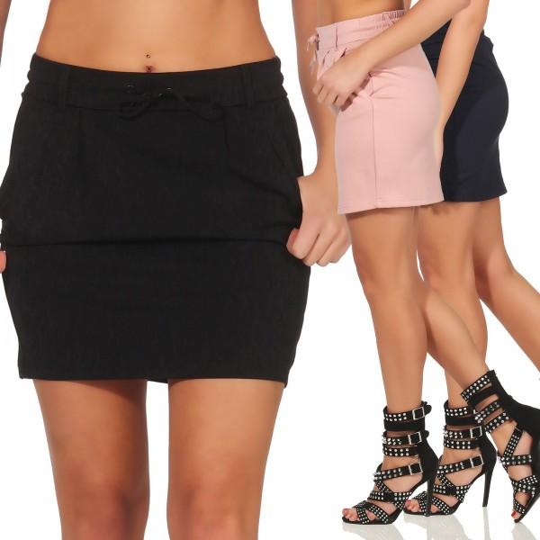c5cde30af153 Only Damen Stoff Rock Poptrash Easy Skirt