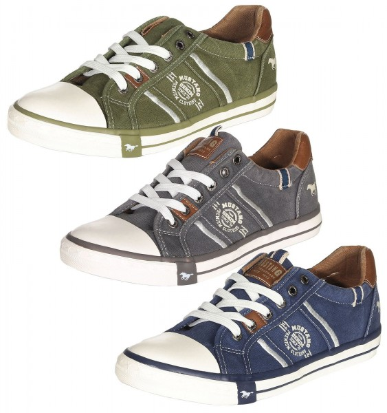 best service ff1a5 20f6a Mustang Shoes Herren Schuhe Sneakers 4072-307