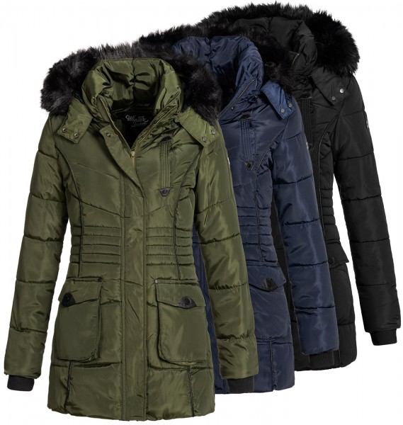 Winterparka Geographical Bouvar Norway Steppmantel Damen OuwZPXlkiT