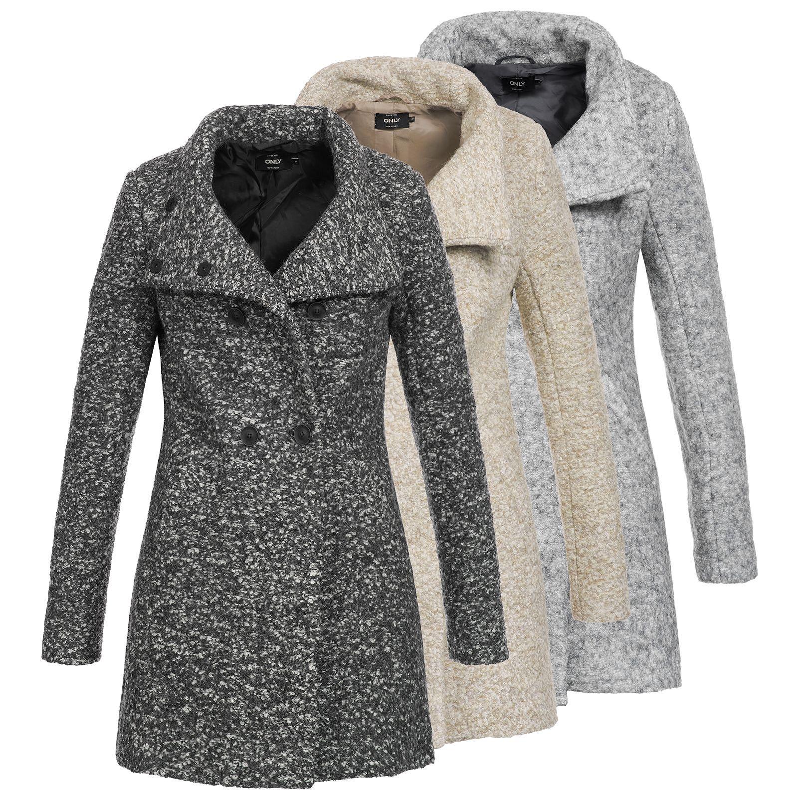 wholesale dealer official site cheapest price Only Damen Wollmantel Sophia Noma