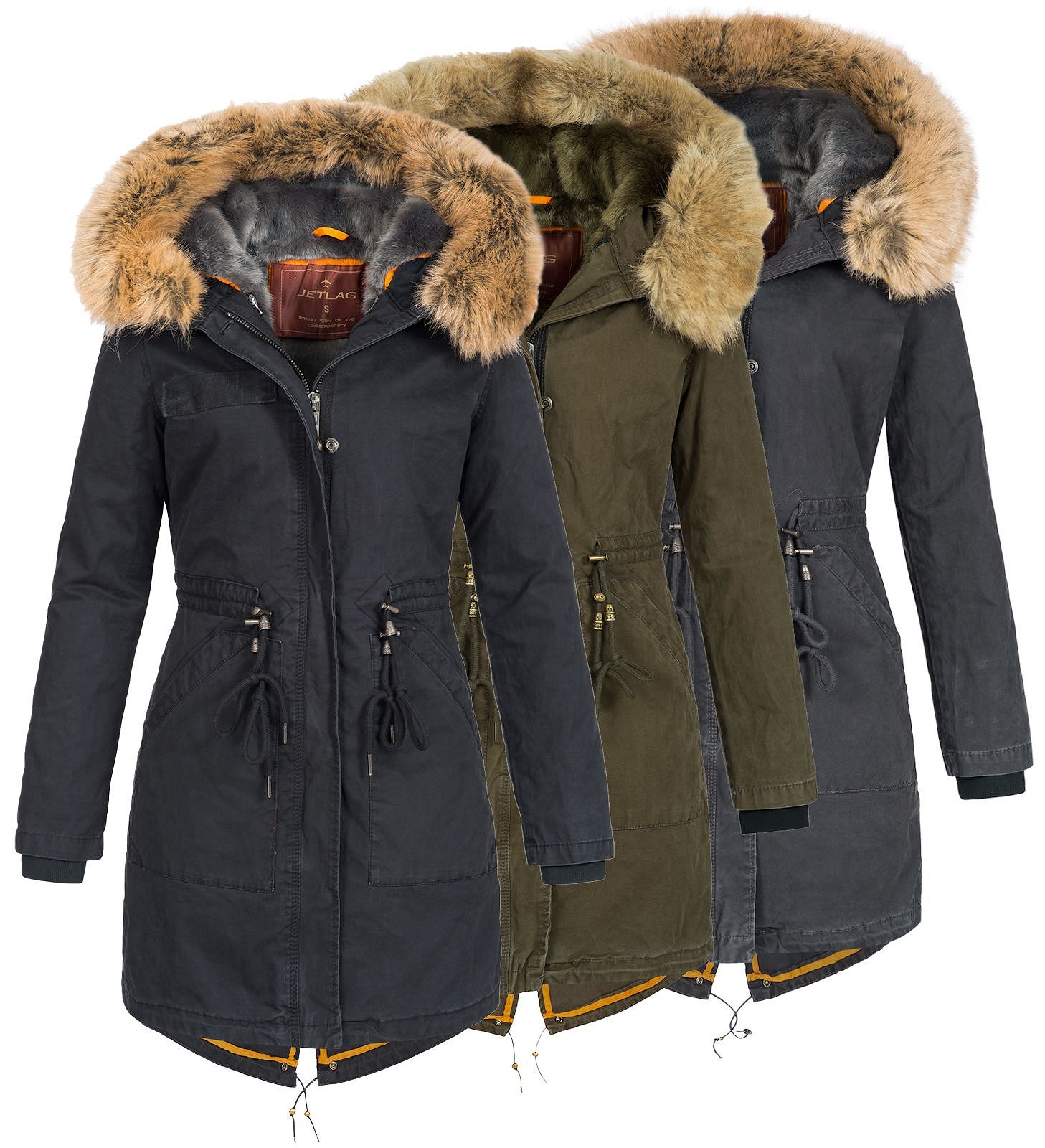 size 40 122f0 33bee Jet Lag Damen Winter Parka 18-135