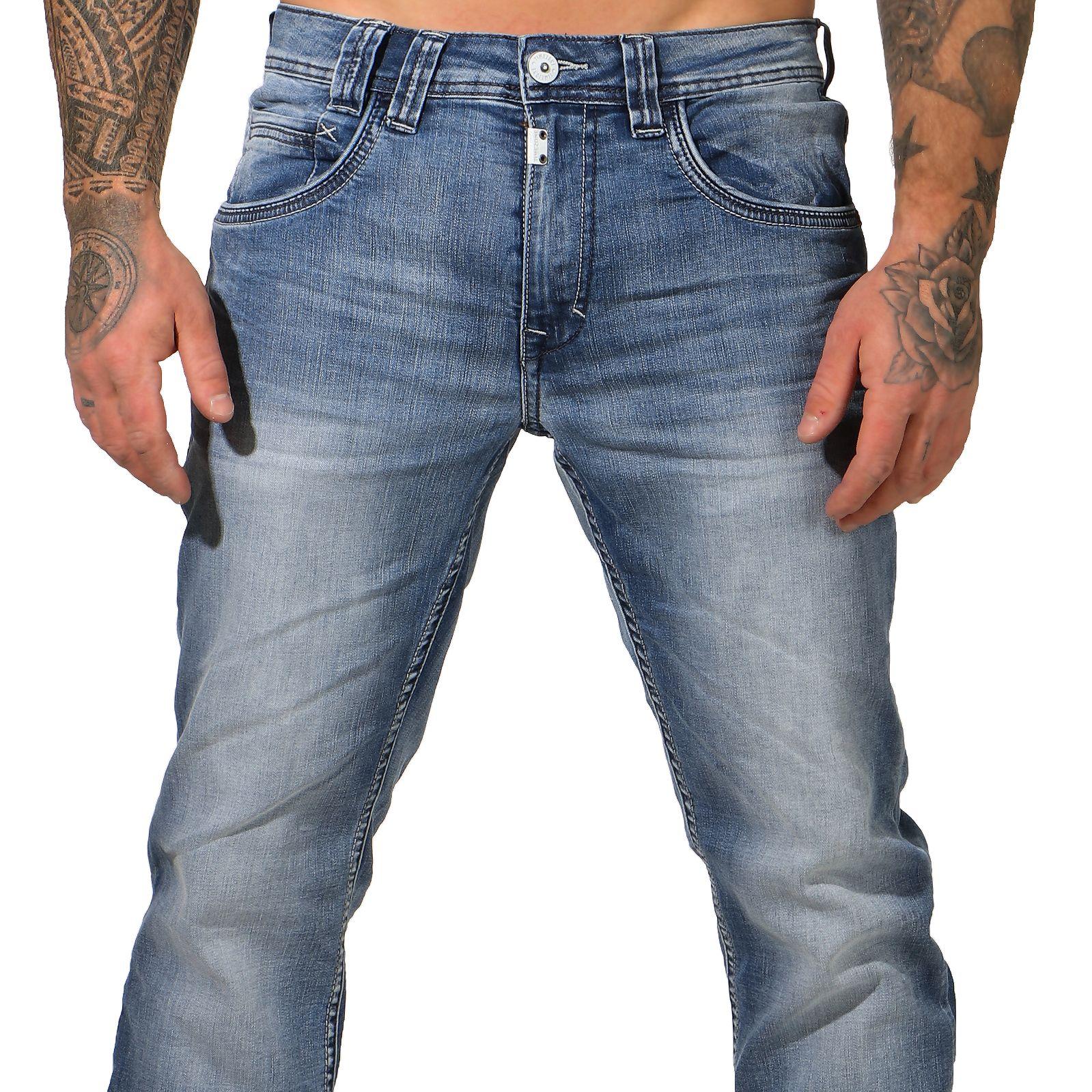 Timezone Herren Jeans 27 10015 Gerrit antique blue wash Slim